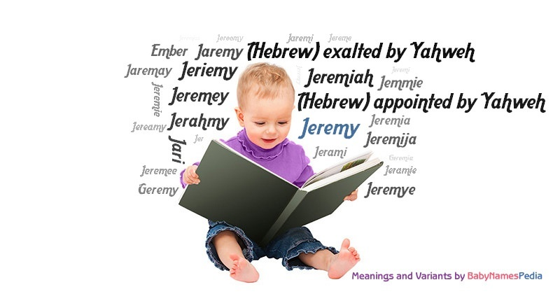 Meaning of the name Jeremy