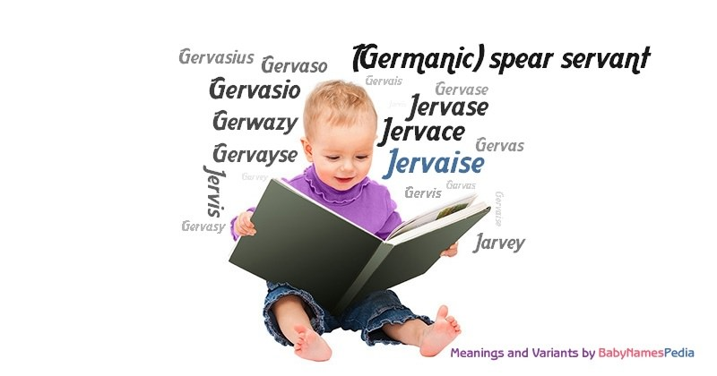 Meaning of the name Jervaise
