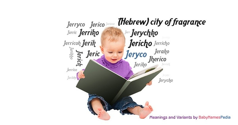 Meaning of the name Jeryco