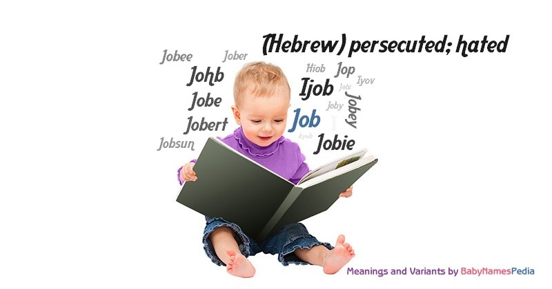Meaning of the name Job