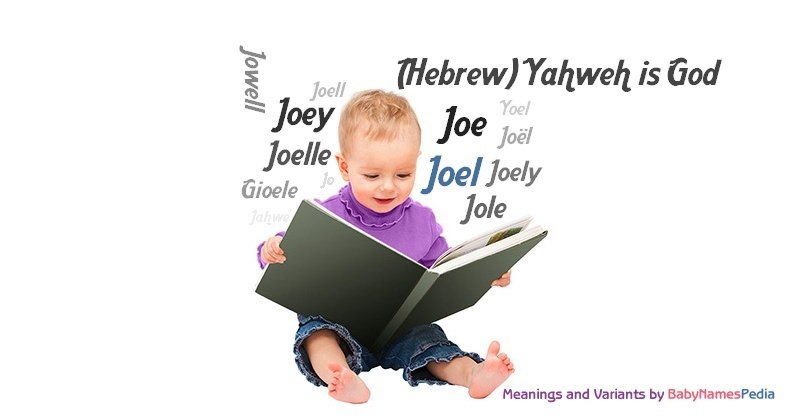 Httpwww Overlordsofchaos Comhtmlorigin Of The Word Jew Html: Meaning Of Joel, What Does Joel Mean?