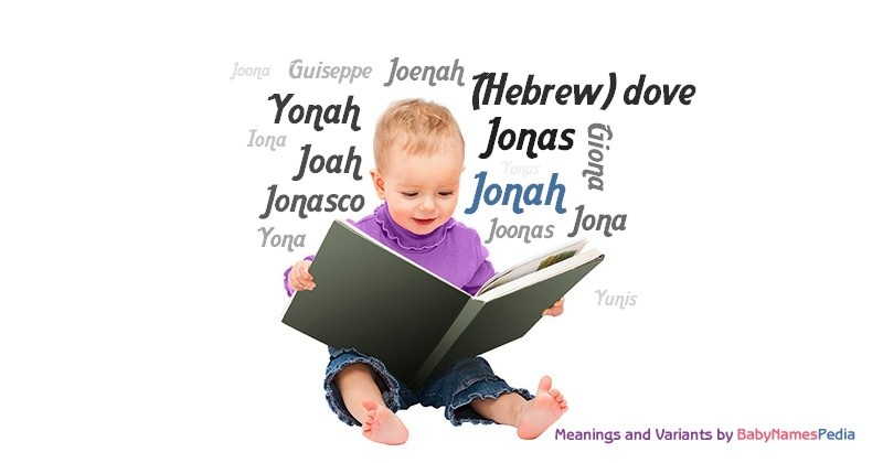 Meaning of the name Jonah
