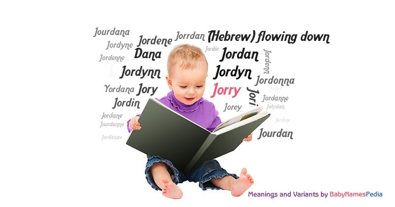 Meaning of the name Jorry