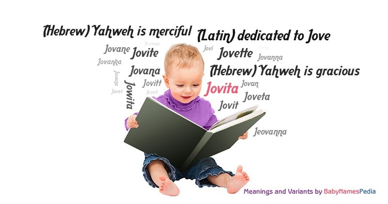 Meaning of the name Jovita