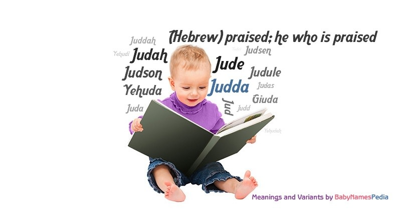 Meaning of the name Judda