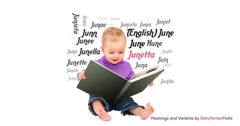 Meaning of the name Junetta