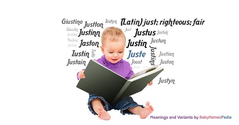 Meaning of the name Juste