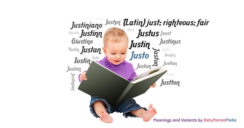 Meaning of the name Justo