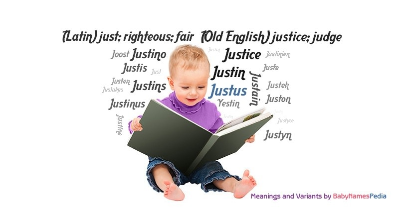 Meaning of the name Justus