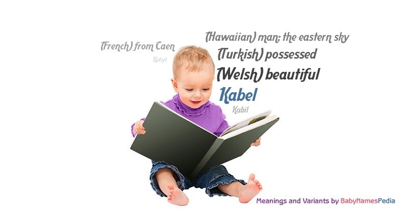 Meaning of the name Kabel