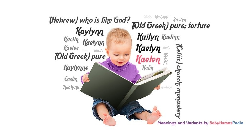 Meaning of the name Kaelen