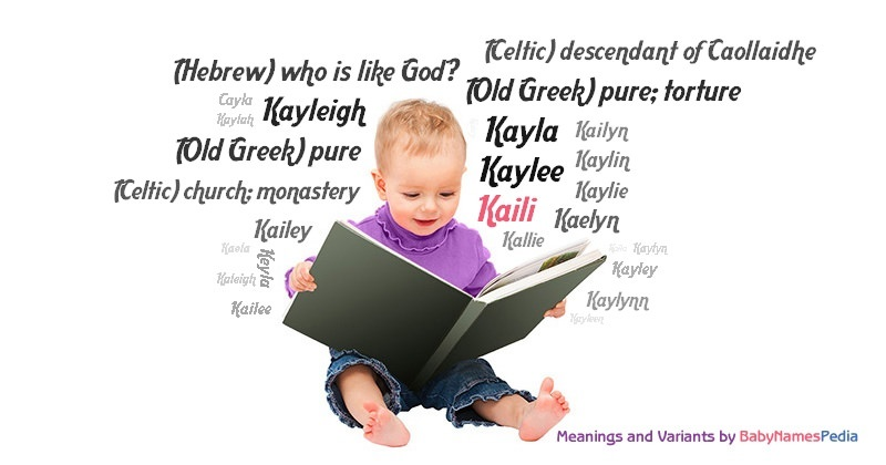 Meaning of the name Kaili