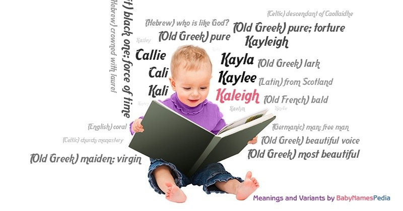 Meaning of the name Kaleigh