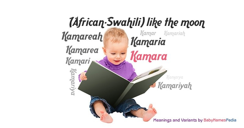 Meaning of the name Kamara