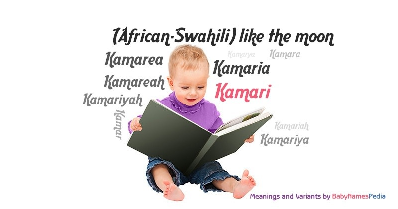 Meaning of the name Kamari