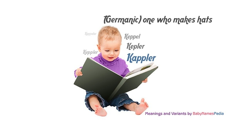 Meaning of the name Kappler