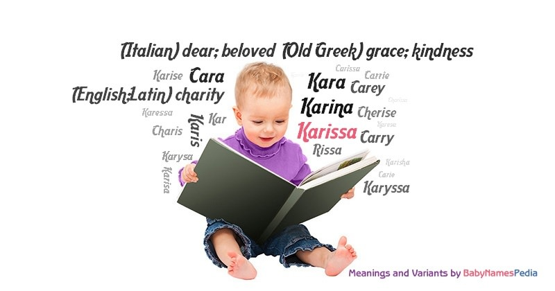 Meaning of the name Karissa