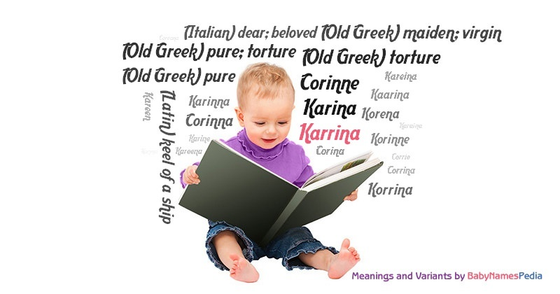 Meaning of the name Karrina
