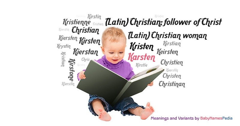 Meaning of the name Karsten