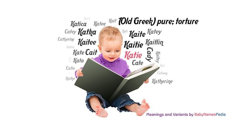 what does katie mean in german