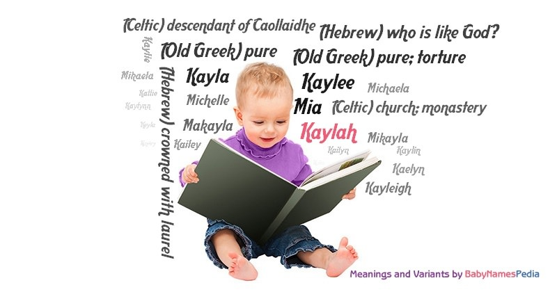 Meaning of the name Kaylah