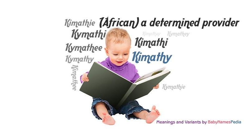 Meaning of the name Kimathy