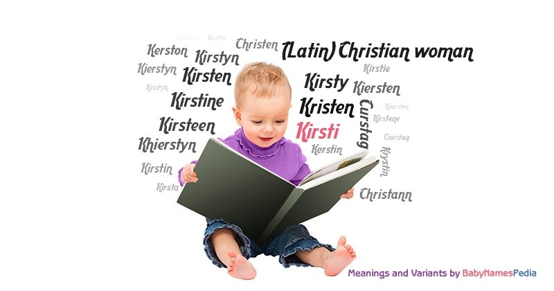 Meaning of the name Kirsti