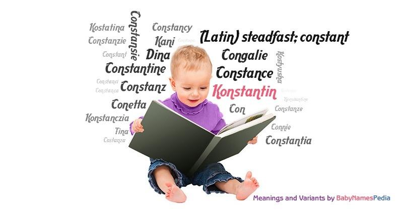 konstantin meaning
