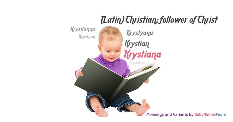 Meaning of the name Krystiana