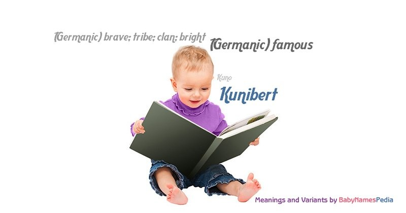 Meaning of the name Kunibert