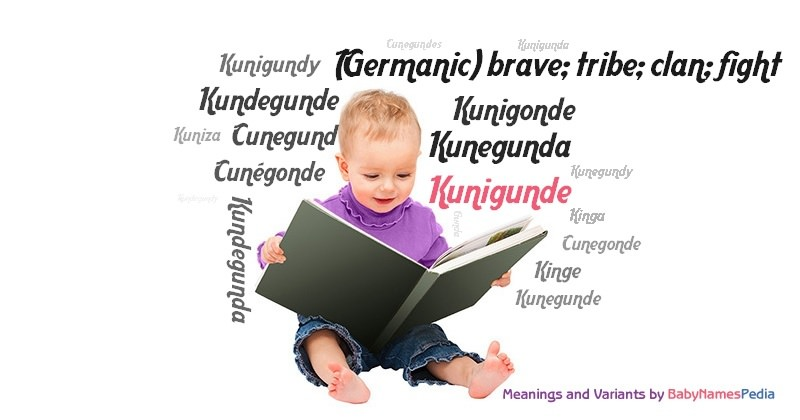 Meaning of the name Kunigunde