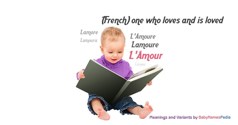 Meaning of the name L'Amour