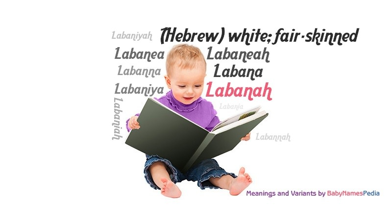 Meaning of the name Labanah