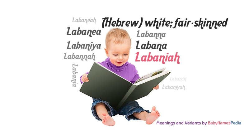 Meaning of the name Labaniah