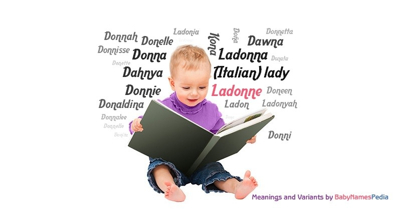 Meaning of the name Ladonne