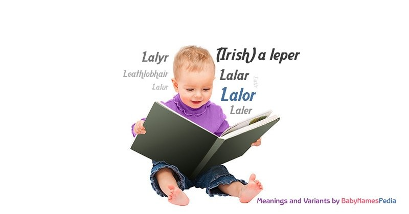 Meaning of the name Lalor