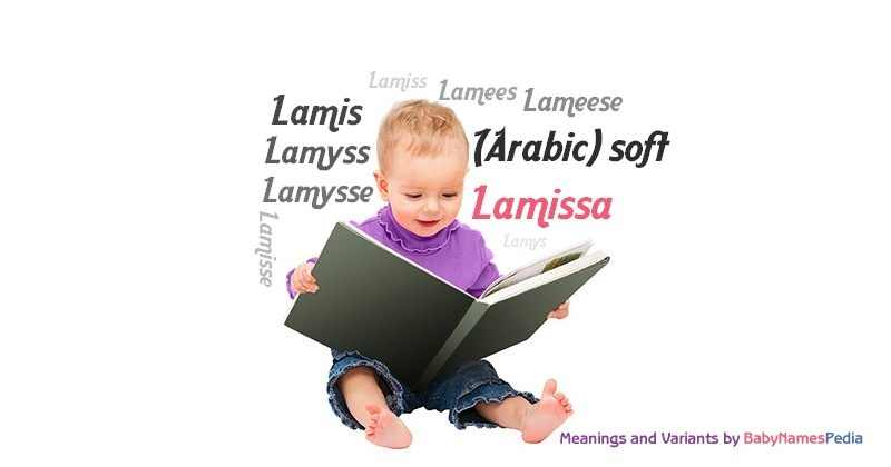 Meaning of the name Lamissa