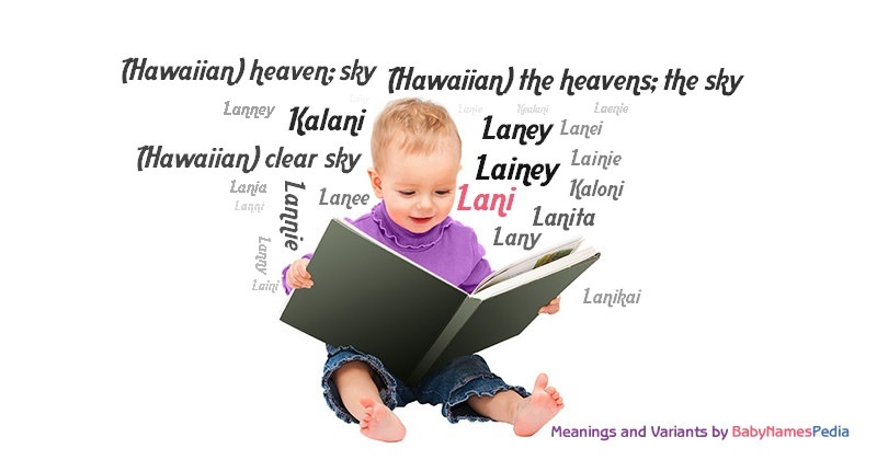 Meaning of the name Lani