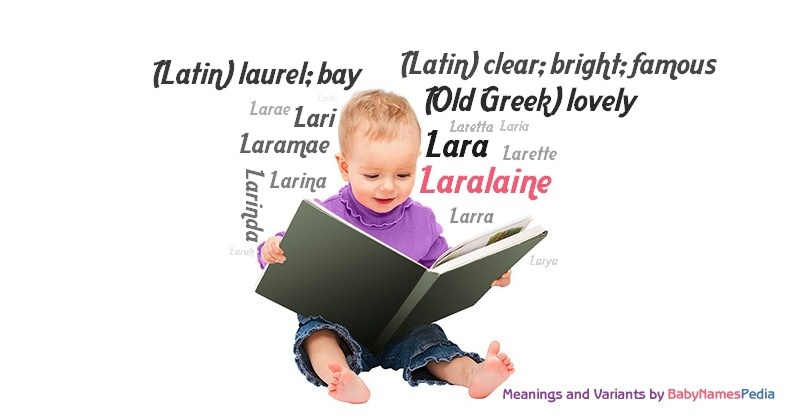 Meaning of the name Laralaine