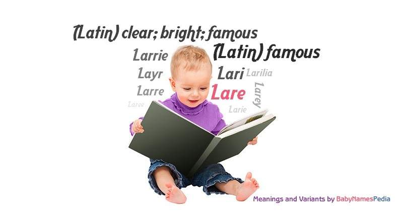 Meaning of the name Lare