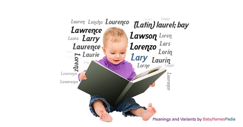 Meaning of the name Lary
