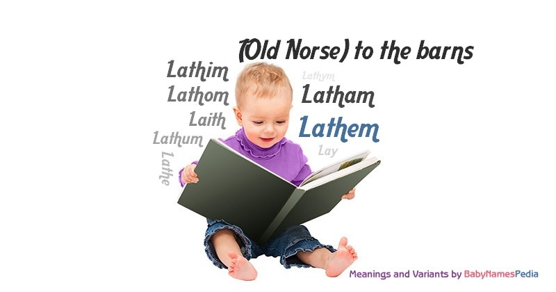 Meaning of the name Lathem