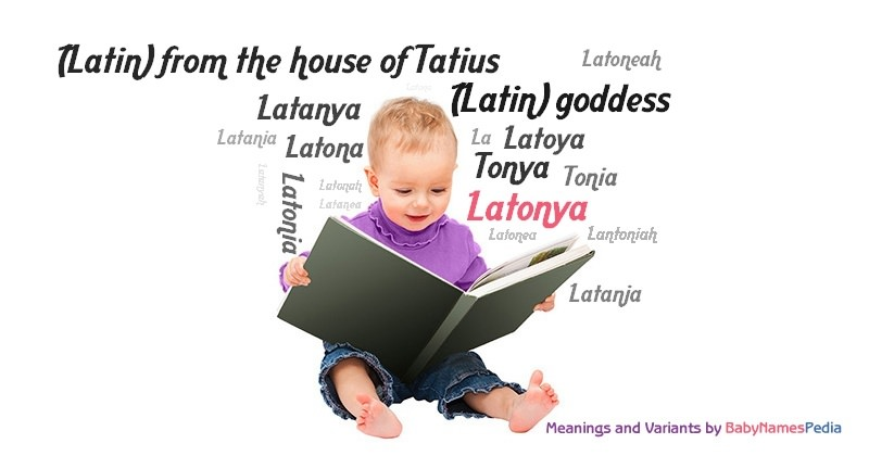 Meaning of the name Latonya