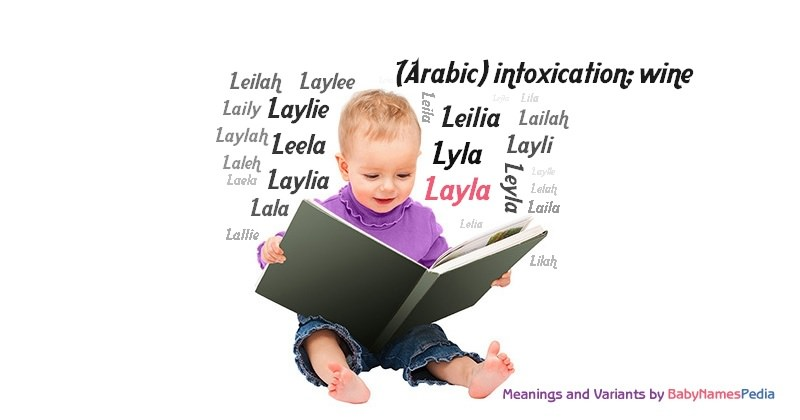 Meaning of the name Layla