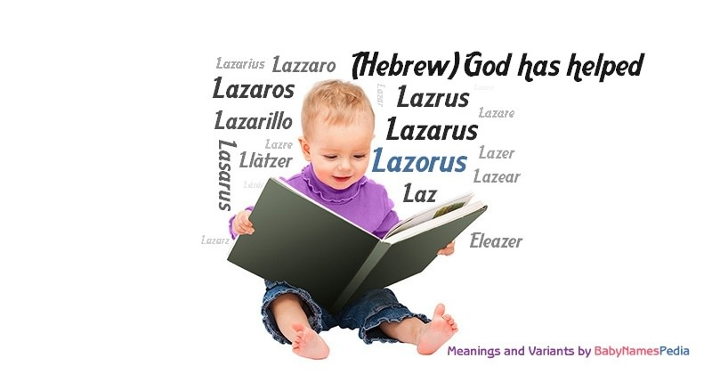Meaning of the name Lazorus