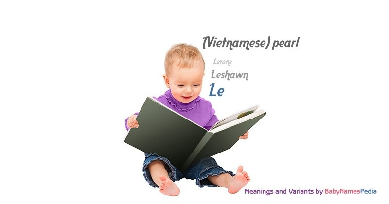 Meaning of the name Le