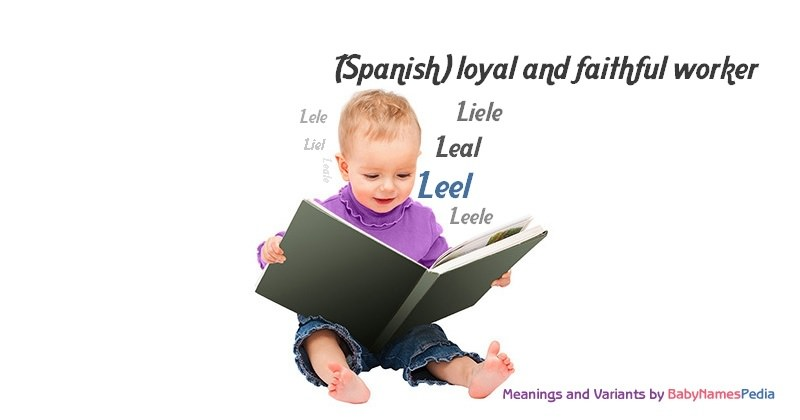 Meaning of the name Leel