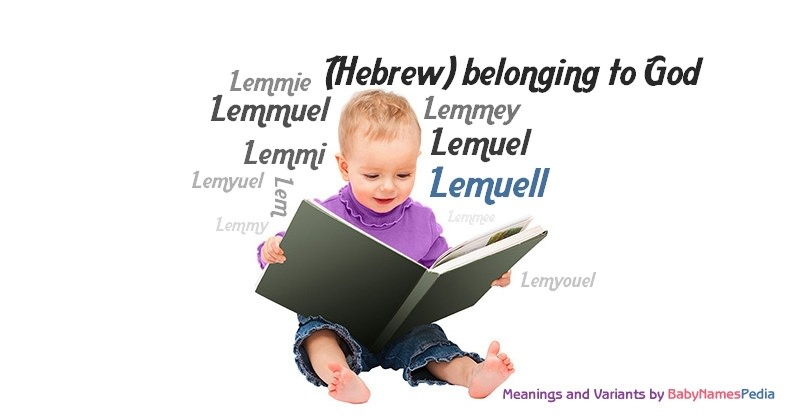 Meaning of the name Lemuell