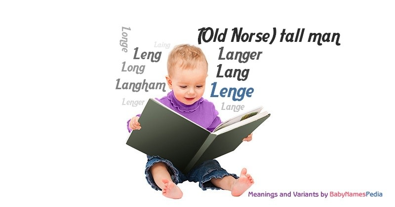 Meaning of the name Lenge