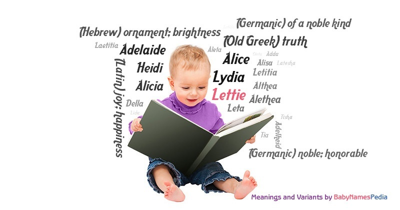 Meaning of the name Lettie